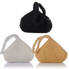 86339d8c7c3 Mini Alumium Sequin Party Handbag Women's Evening Clutch Bag Prom Wedding  Purses