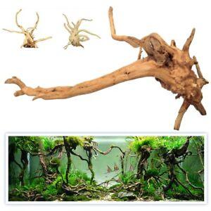 Aquarium Decoration Cave Shelter Fish Tank Natural Wood Driftwood 15-20cm