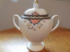 Wedgwood Touraine bone china Leigh shape sugar box and lid R4730 - EXCELLENT!!