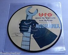 "UFO - Back Into My Life UK 1982 Chrysalis Picture Disc 7"" Single"