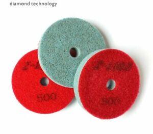 Diamond Polishing Pad Marble Granite Stone Grinding Disc Wet Use Sponge Buffing