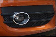 AUDI Q3 2012 2013 2014 Chrome Front Bumper Fog Light LAMP Ring cover trim set