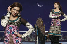 Indian Pakistani Designer Salwar Kameez Original Floral Creations 7241A
