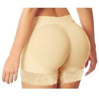 Women Seamless Hip Enhancer Body Shaper Push Up Padded Panties Underwear Briefs