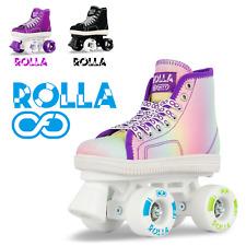 Crazy Skates Rolla Roller Skates for Boys and Girls - Sneaker-Style Kids Quad...