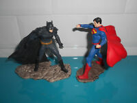 18.2.4.6 Lot Figurines 9cm figure DC comics Superman vs Batman Schleich