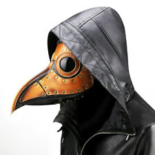 Plague Doctor Dr Crow Steampunk Mask Halloween Horror Face Fancy Dress Costume