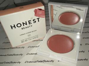 BNIB Honest Beauty Creme Cheek Blush Sheer Buildable Cream Color in *ROSE PINK*