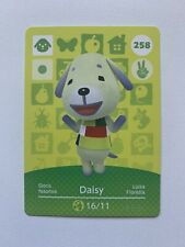 Animal Crossing Genuine Official Amiibo Card Daisy 258 [Mint Unscanned]