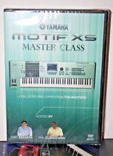 Yamaha Motif XS Master Class DVD vidéo aide tutoriel entraînement leçon