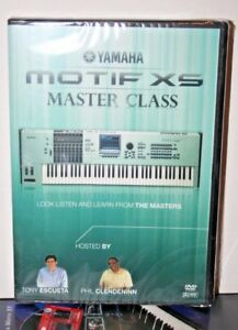Yamaha Motif xs master class video dvd help tutorial training lesson