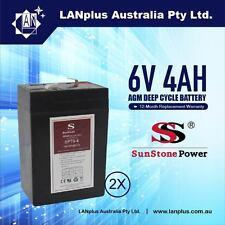 6v 4.0ah SLA Rechargeable Battery 6volt Lead 4ah Toy Electric