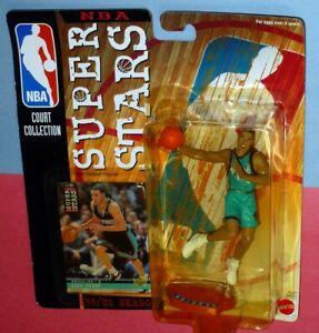 1999 MIKE BIBBY Memphis Vancouver Grizzlies Superstars Starting Lineup Sac Kings