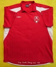 4.5/5 Team Canada UMBRO ORIGINAL FOOTBOLL SOCCER SHIRT JERSEY
