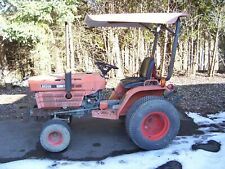Kubota B5200 Diesel Tractor With Three Point Hitch, Front Weights & Sun Shade :