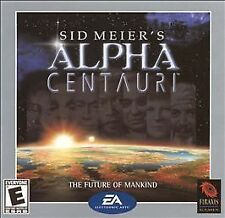 Sid Meier's Alpha Centauri Jewel Case (PC, 1999)