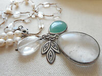 Silpada Sterling Silver Oh-so-Pretty Stone Pendant Necklace N2108 929242