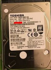"TOSHIBA 1TB MQ01ABD100 Hard Disk Drive HDD 2.5"" 32MB 5400RPM SATA3 Laptop disk"