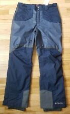 NWT COLUMBIA MEN'S  OUTDRY GLACIAL NORDIC HYBRID SKI SNOW PANTS BLUE L  NEW $175