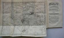 Description topographique du district de Chatelleraud. édition originale. 1790.
