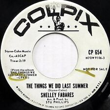 SHELLEY FABARES 45 Things We Did Last Summer Breaking Up Is COLPIX Promo cc100