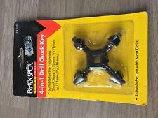 Blackspur BB-CK102 4-in-1 Drill Chuck Key