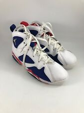 YOUTH SIZE 2.5 WHITE LEATHER 2016 NIKE AIR JORDAN RETRO OLYMPIC SHOES