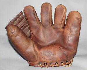 Antique Vintage 1940's Shapleigh's Whitey Kurkowski split finger baseball glove
