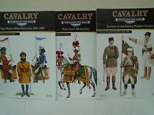 Del Prado 'Cavalry Through The Ages' Magazines x 3 (Osprey) FFL, Mamelukes