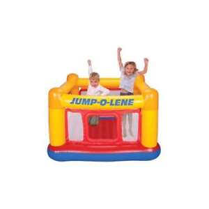 INTEX Inflatable Jump-O-Lene Ball Pit Playhouse Bounce House Ages 3-6 (Open Box)
