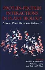 Protein-Protein Interactions in Plant Biology (Sheffield Annual Plant Reviews)