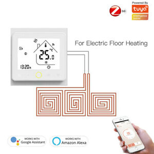ZigBee Smart WIFI Thermostat Temperature Controller Hub For Alexa Google Home