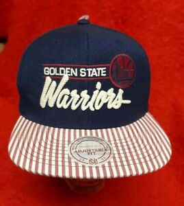 NWT-Golden State Warriors-Mitchell & Ness-Snapback Hat/Cap-FREE SHIPPING!-CURRY