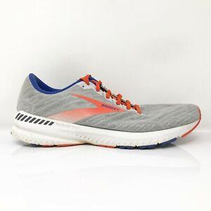 Brooks Mens Ravenna 11 1103301D049 Gray Orange Running Shoes Lace Up Size 10 D