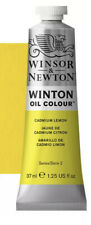Winton Oil Color 37 ml Tube - Cadmium Lemon