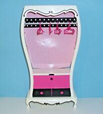 %***Barbie Möbel,Vintage von 2003,Schrank mit Klappfach,Kleiderstange,Bügel***%