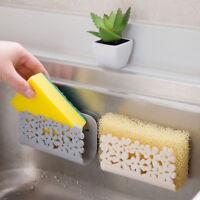 Dish Cloths Rack Suction Sponge Holder Clip Rag Storage Rack Kitchen Organizer