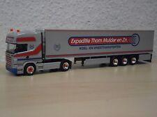 """Herpa - Scania R TL KüKoSZ """"Expeditie Thom Mulder / Donkerbroek"""" (NL) - 1:87"""