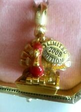 New w Tag Box JUICY COUTURE Turkey CHARM Thanksgiving LE 2008 Bloomingdale's