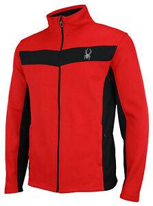Spyder Men's Racer Full Zip Jacket, Color Options