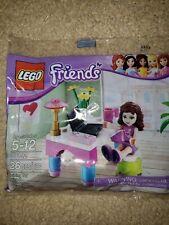LEGO 30102 Friends Olivia Desk polybag MISB Sealed Buy 6 = Free Shipping!