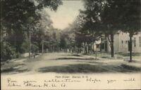 Warner NH Main St. c1905 Postcard