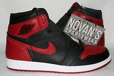 Nike Air Jordan 1 Retro Hi OG Banned Bred Black Red 555088-001 sz17 Top 3 Royal