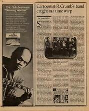 Robert Crumb Interview/article 1977 RS-ZARP