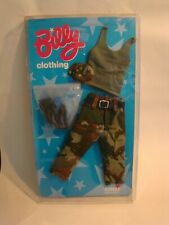 Gay Billy Pal Tyson Army Boxed Outfit Fatigues Singlet Camo Cap Boots NO DOLL