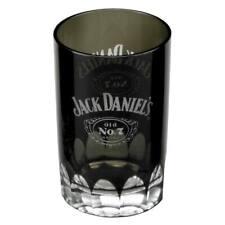 Jack Daniels Faceted Shot Glass Black