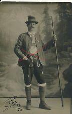 Nr.24554 Foto PK Mann in Tracht Feldkirch 1916  Vorarlberg