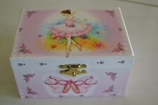 Girls Ballerina Jewellery Music Musical Box Flower Girl Xmas Gift! unwanted