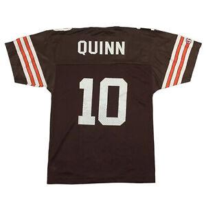 Vtg Champion Cleveland Browns Youth Jersey Brady Quinn #10 NFL Football Sz Kid M