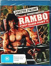 Rambo First Blood Part 2 Blu Ray Region Like Limited Edition Artwork
